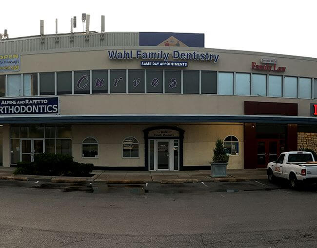 Wilmington dental office of Wahl Family Dentistry