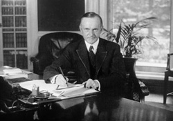 Oval Office, 1923 - Coolidge