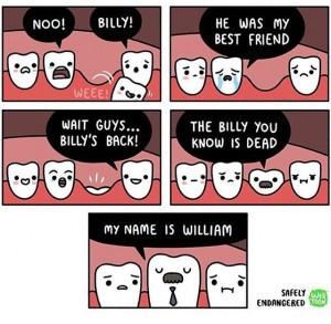 Billy is gone